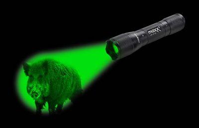 Wild-Finder Lampe Maxenon mit CREE LED  - grün