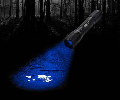 Schweißfinder- Lampe Maxenon CREE LED  - blau