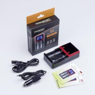 Akkuladegerät / Multifunktionaler LCD Charger M2  Art. Nr. ZA-1010