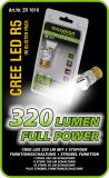 CREE LED R5 Power LED 320 Lumen 3 Funktion +Strobel